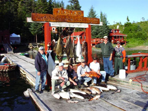 Ling cod, rockfish and halibut fishing in Prince William Sound